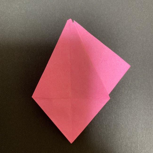 折り紙 五角形の桜*作り方折り方 (26)