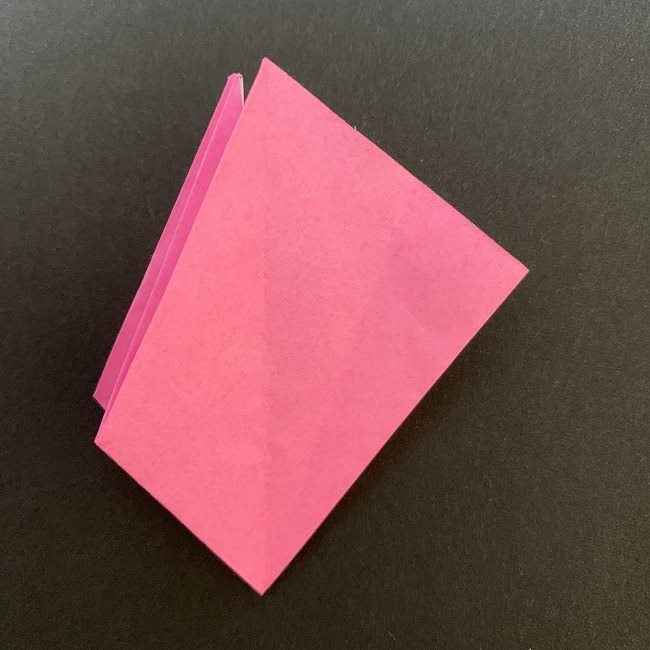 折り紙 五角形の桜*作り方折り方 (27)