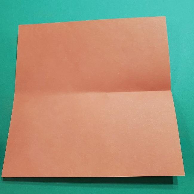 折り紙 桜の立体的なリースの作り方 (5)