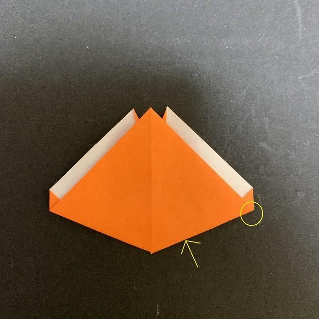 春の折り紙 チューリップの折り方作り方 (14)