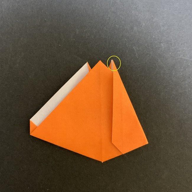 春の折り紙 チューリップの折り方作り方 (15)