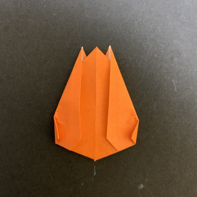 春の折り紙 チューリップの折り方作り方 (17)