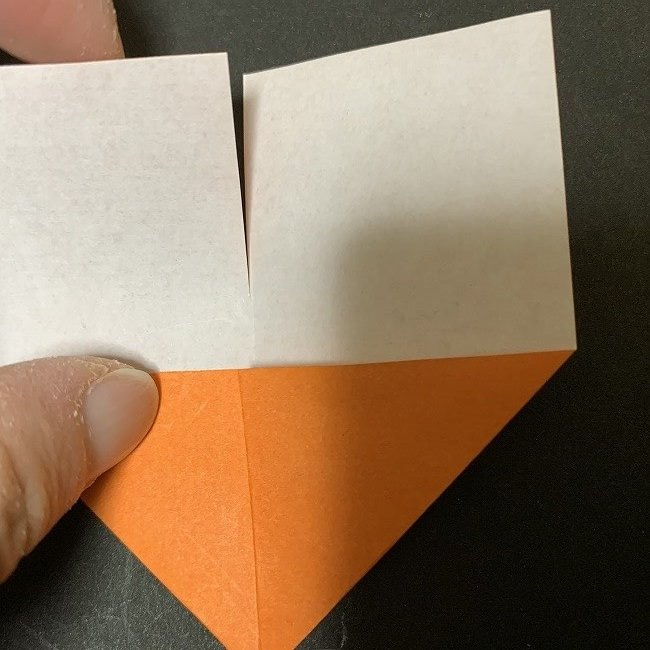 春の折り紙 チューリップの折り方作り方 (4)