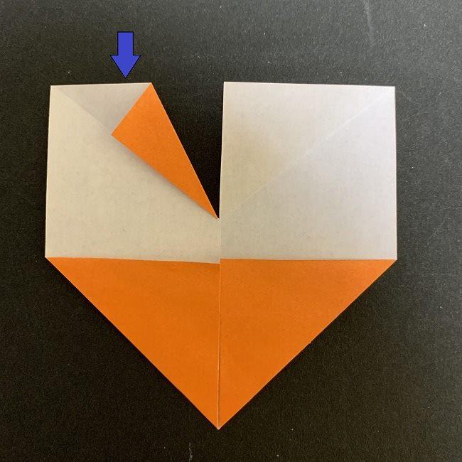 春の折り紙 チューリップの折り方作り方 (8)