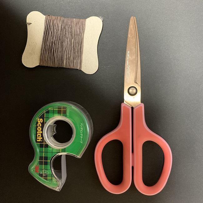 桜のつるし飾りの折り紙*用意する道具
