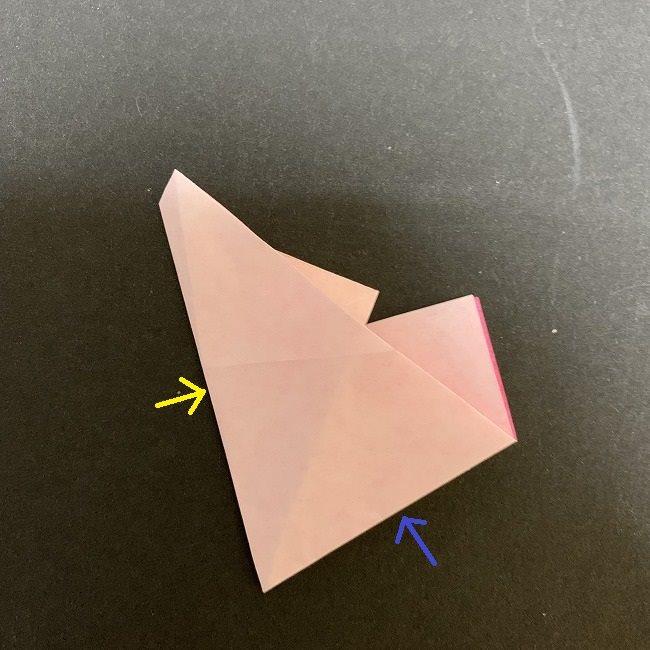 桜の折り紙(切り抜きver (12)