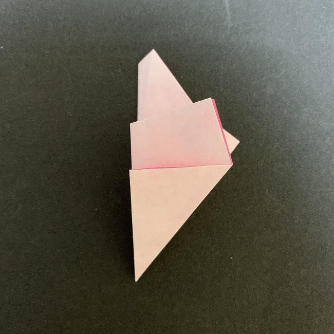 桜の折り紙(切り抜きver (13)