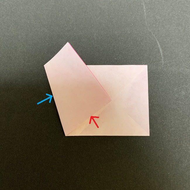 桜の折り紙(切り抜きver (7)