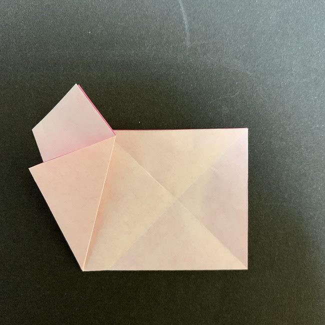 桜の折り紙(切り抜きver (8)