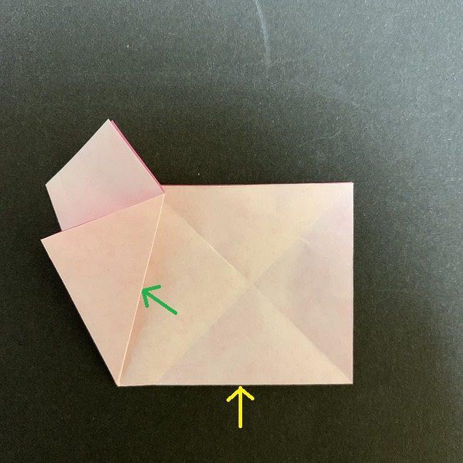 桜の折り紙(切り抜きver (9)