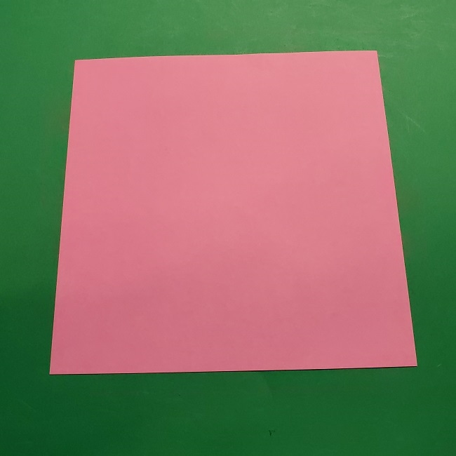桜の折り紙 器(小物入れ)の折り方作り方 (1)