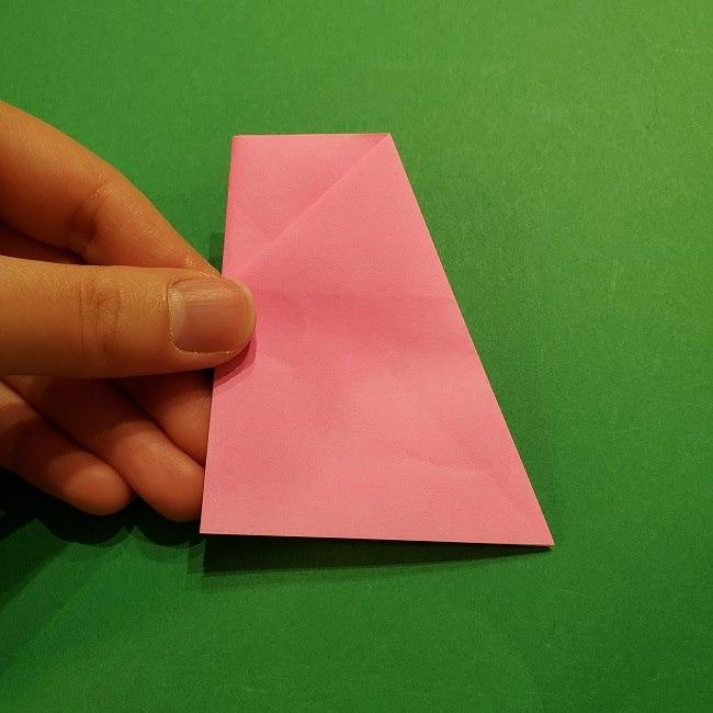 桜の折り紙 器(小物入れ)の折り方作り方 (16)