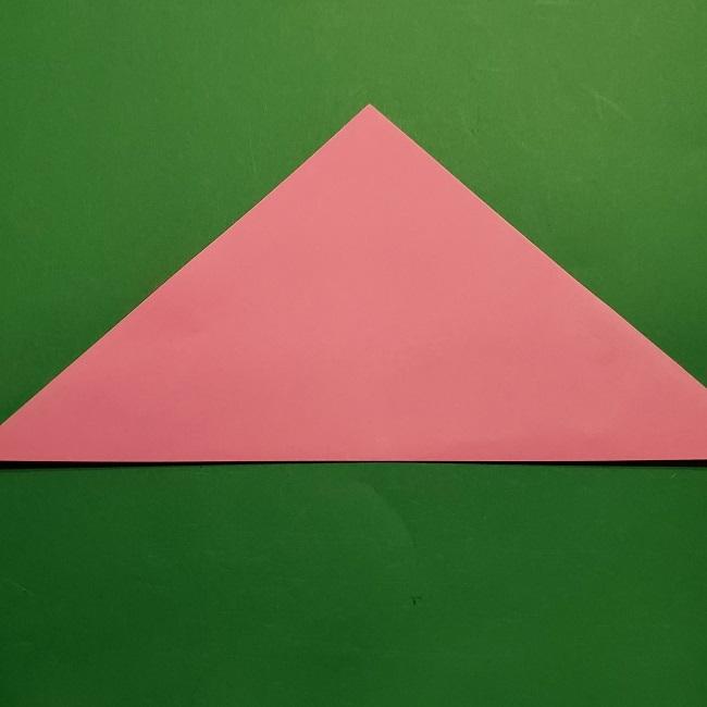 桜の折り紙 器(小物入れ)の折り方作り方 (2)