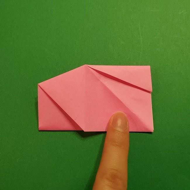 桜の折り紙 器(小物入れ)の折り方作り方 (22)