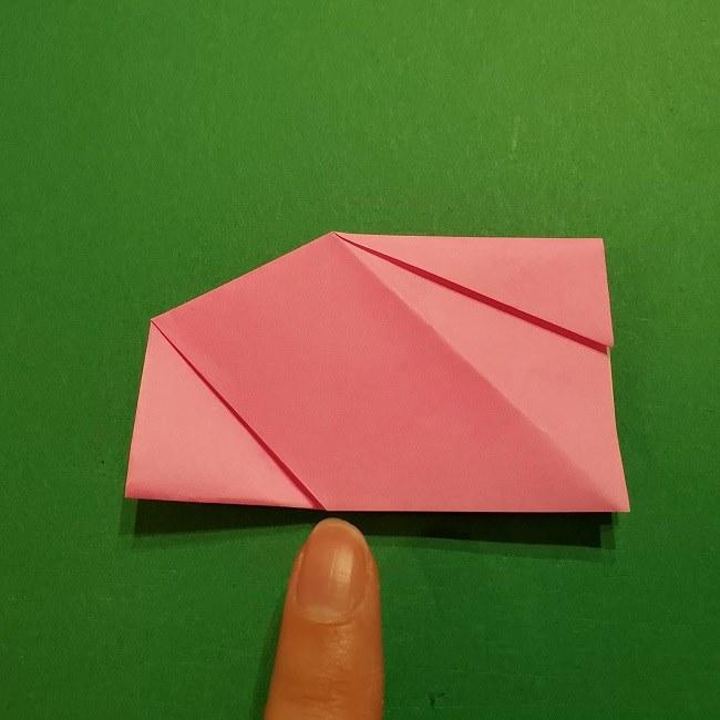 桜の折り紙 器(小物入れ)の折り方作り方 (24)