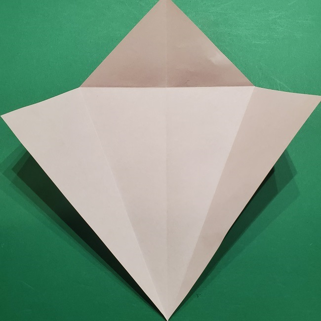 桜の折り紙 器(小物入れ)の折り方作り方 (6)