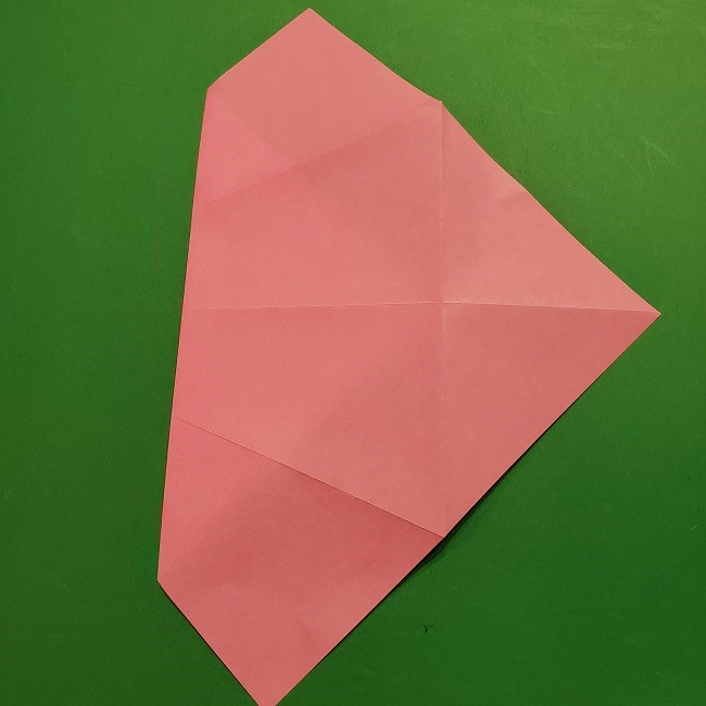 桜の折り紙 器(小物入れ)の折り方作り方 (8)