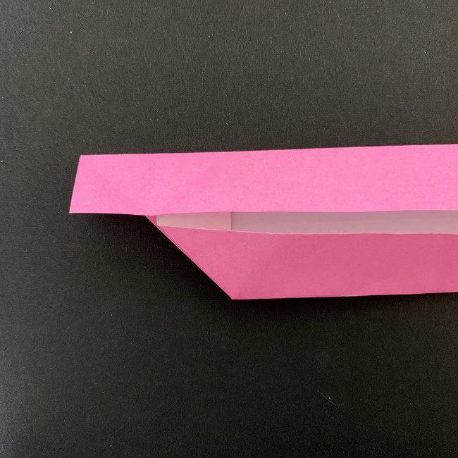 桜の折り紙 立体的なくす玉*折り方作り方 (14)