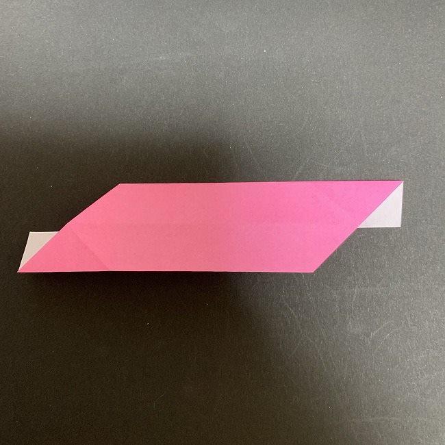 桜の折り紙 立体的なくす玉*折り方作り方 (17)