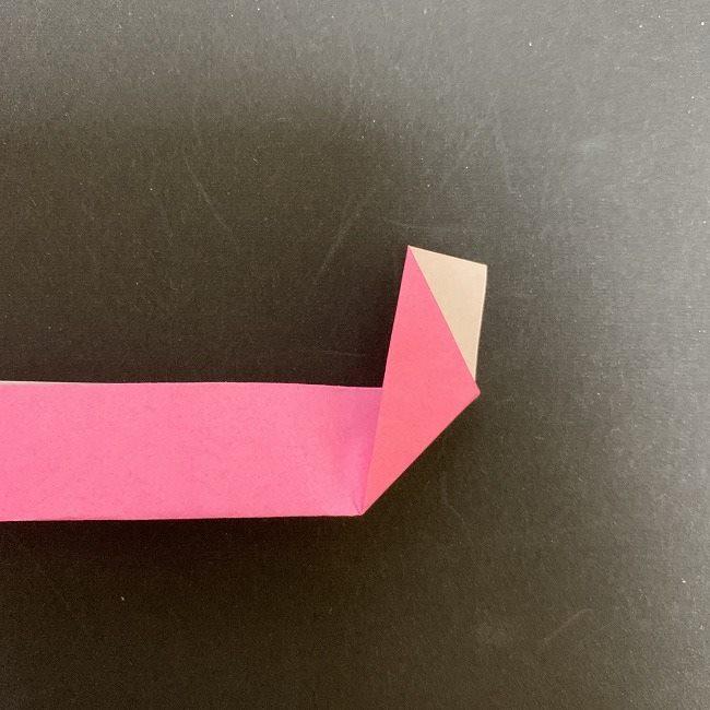 桜の折り紙 立体的なくす玉*折り方作り方 (19)