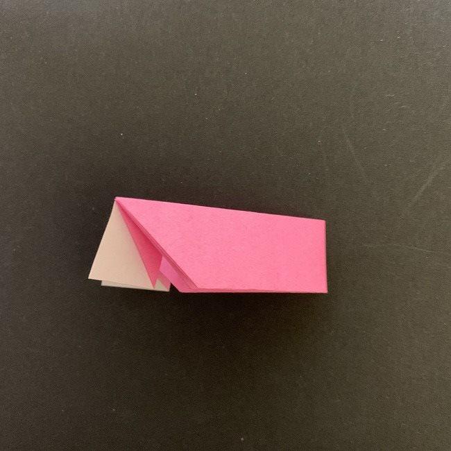 桜の折り紙 立体的なくす玉*折り方作り方 (23)
