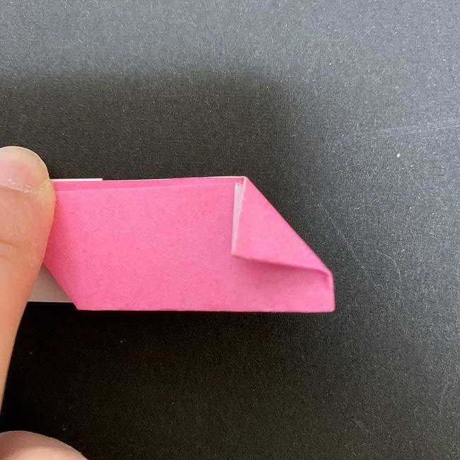 桜の折り紙 立体的なくす玉*折り方作り方 (24)