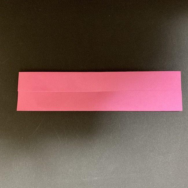 桜の折り紙 立体的なくす玉*折り方作り方 (3)
