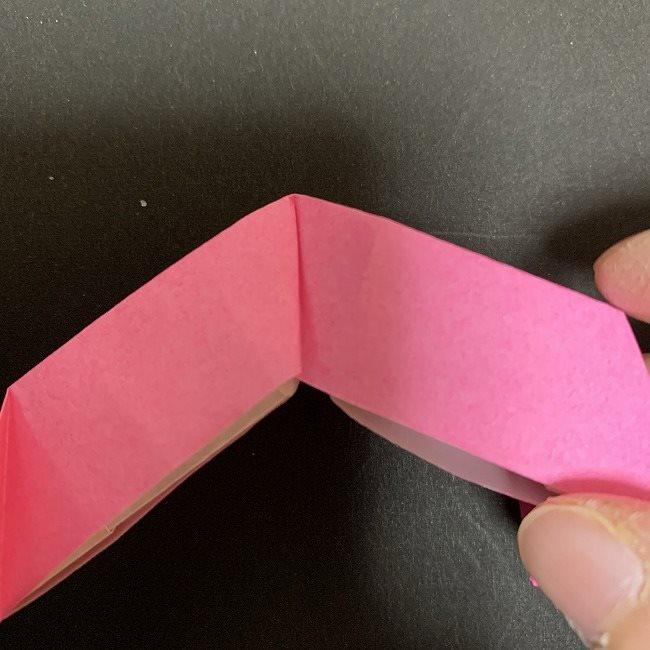 桜の折り紙 立体的なくす玉*折り方作り方 (33)