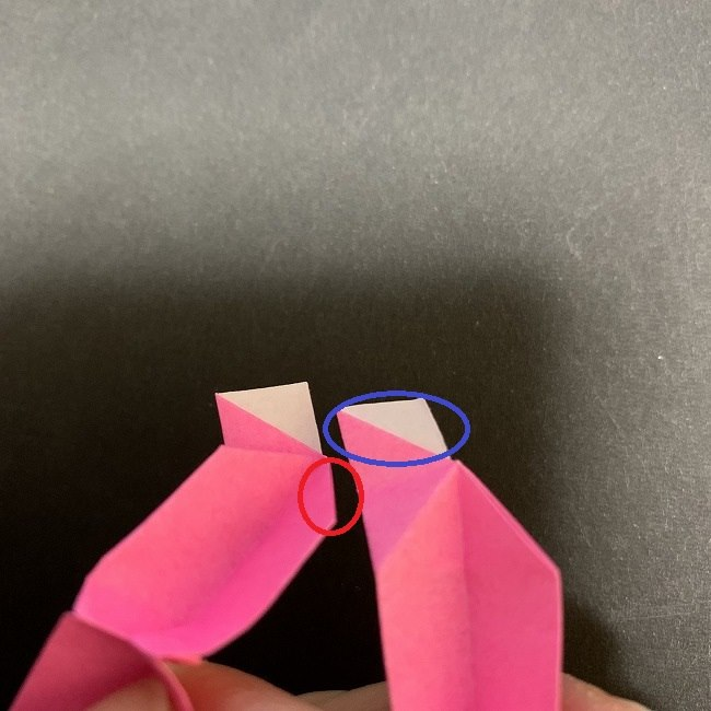 桜の折り紙 立体的なくす玉*折り方作り方 (37)