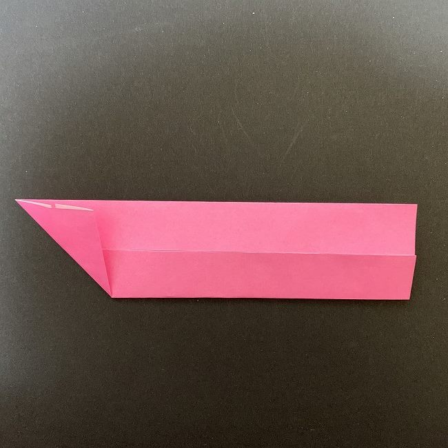 桜の折り紙 立体的なくす玉*折り方作り方 (4)