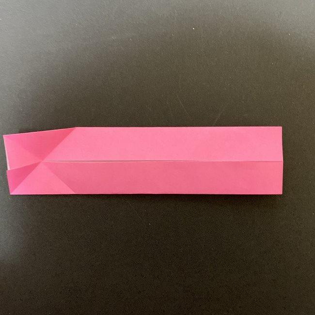 桜の折り紙 立体的なくす玉*折り方作り方 (7)