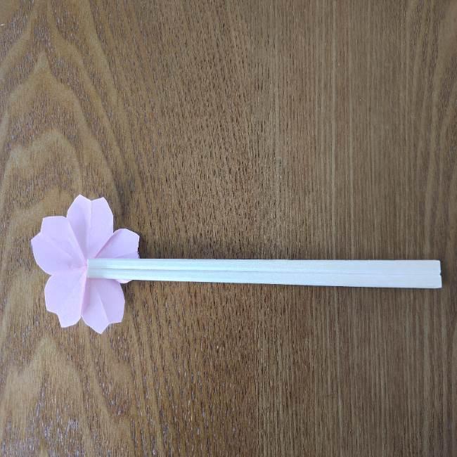 桜の折り紙 箸置きの折り方作り方★小さいお花で華やかに♪ひな祭りの食卓にもピッタリ