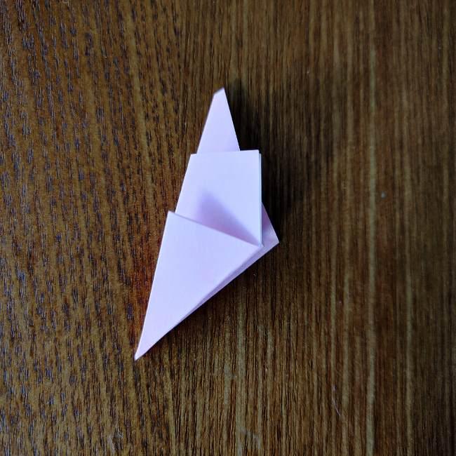 桜の折り紙 箸置き*折り方作り方 (10)