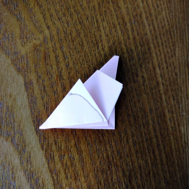 桜の折り紙 箸置き*折り方作り方 (11)