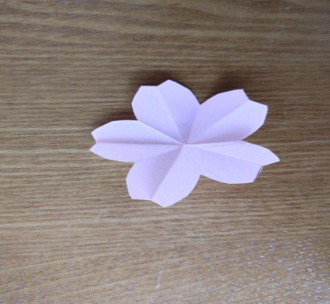 桜の折り紙 箸置き*折り方作り方 (14)