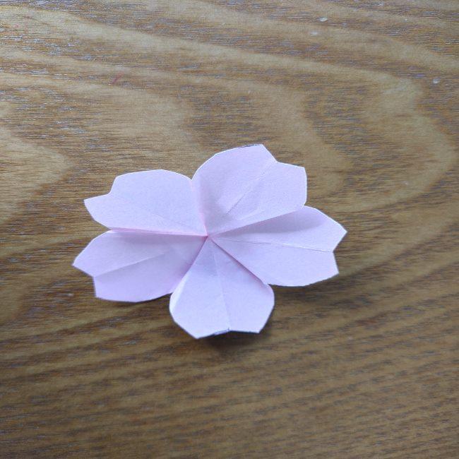 桜の折り紙 箸置き*折り方作り方 (18)