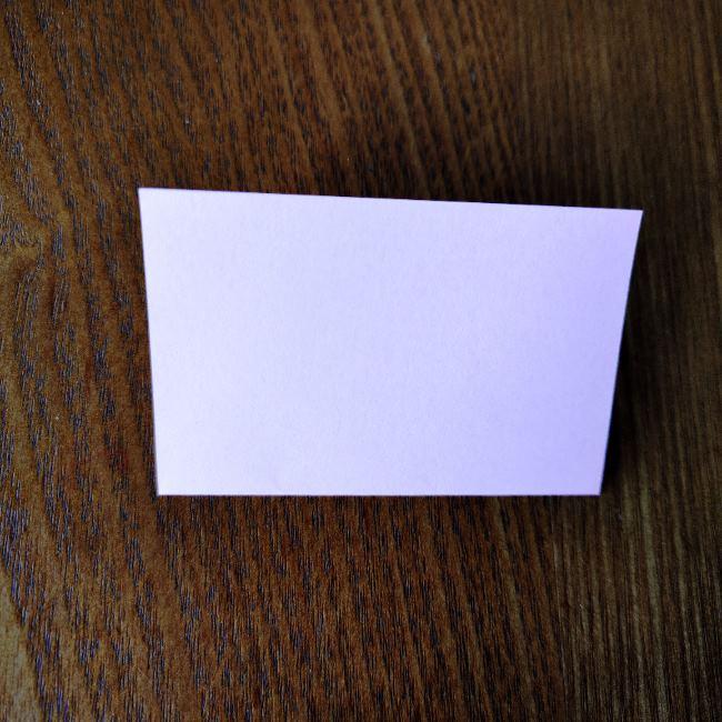 桜の折り紙 箸置き*折り方作り方 (2)