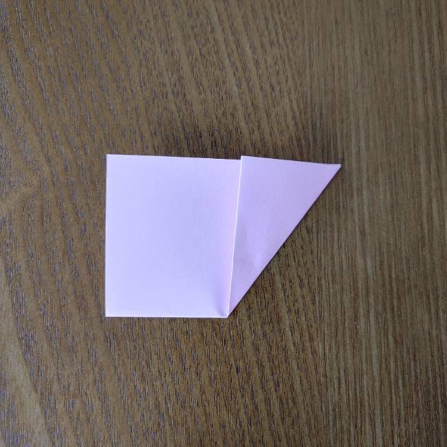 桜の折り紙 箸置き*折り方作り方 (3)