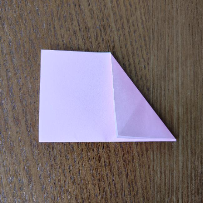 桜の折り紙 箸置き*折り方作り方 (5)