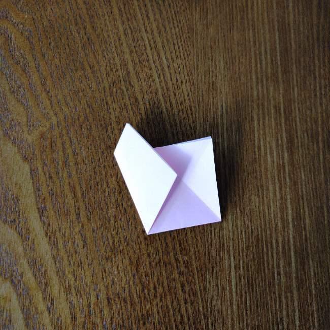 桜の折り紙 箸置き*折り方作り方 (7)