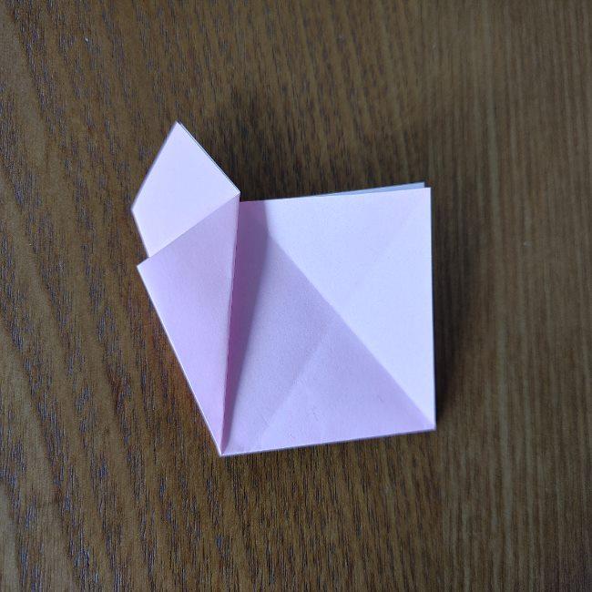 桜の折り紙 箸置き*折り方作り方 (8)