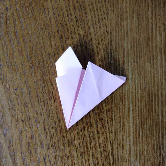 桜の折り紙 箸置き*折り方作り方 (9)