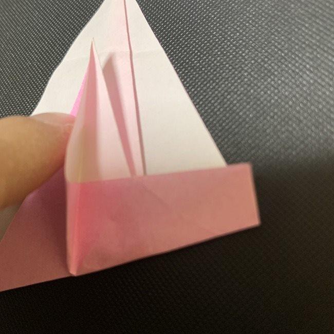 桜の花びら 折り紙の折り方・作り方補足