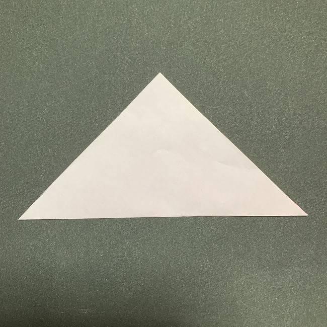 桜の花びら 折り紙の折り方・作り方 (1)