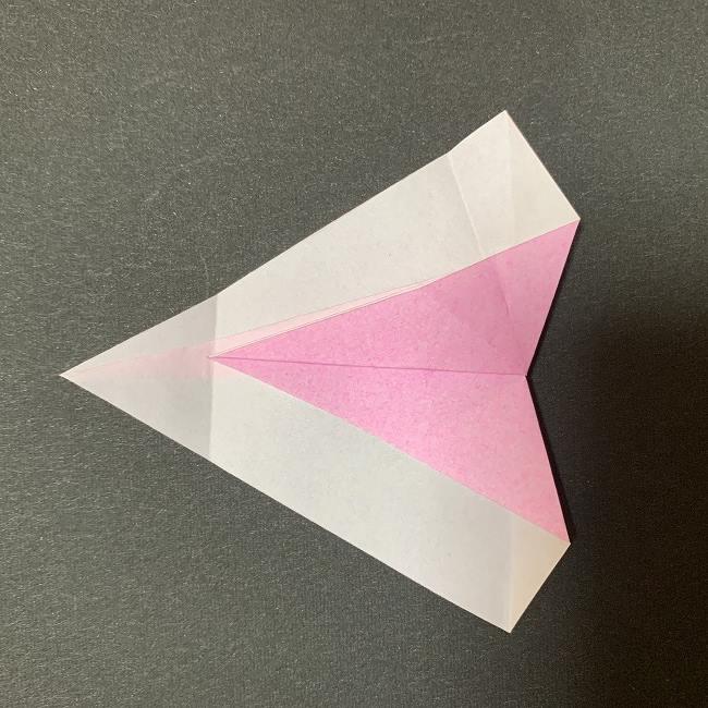 桜の花びら 折り紙の折り方・作り方 (14)