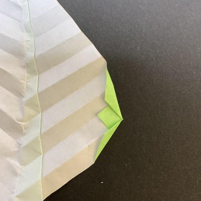 桜の葉の折り紙 簡単な折り方作り方 (10)