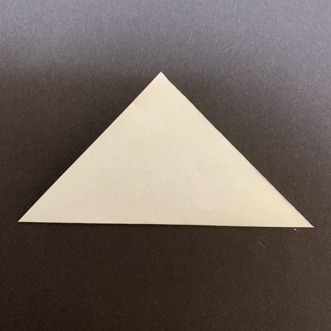 桜の葉の折り紙 簡単な折り方作り方 (2)