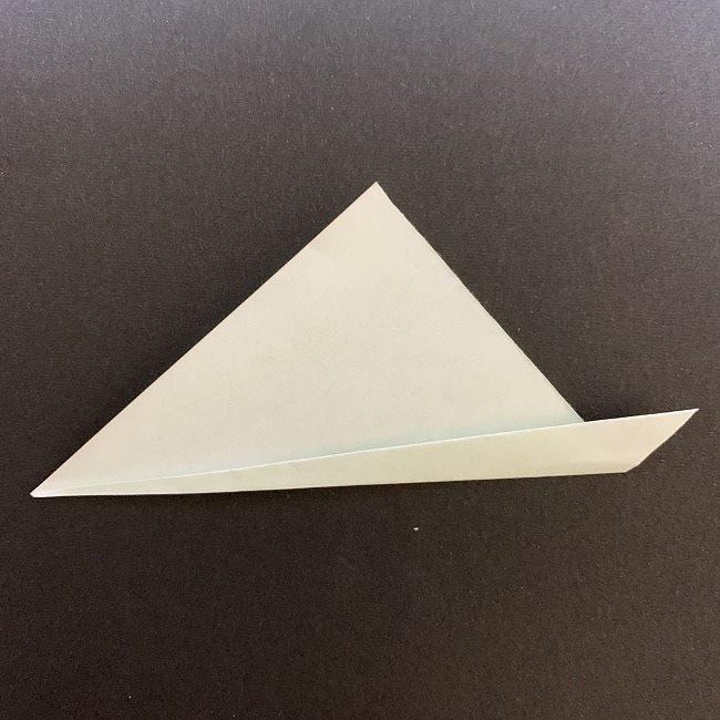 桜の葉の折り紙 簡単な折り方作り方 (3)