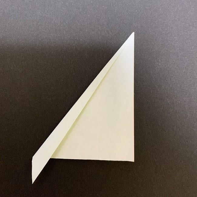 桜の葉の折り紙 簡単な折り方作り方 (4)