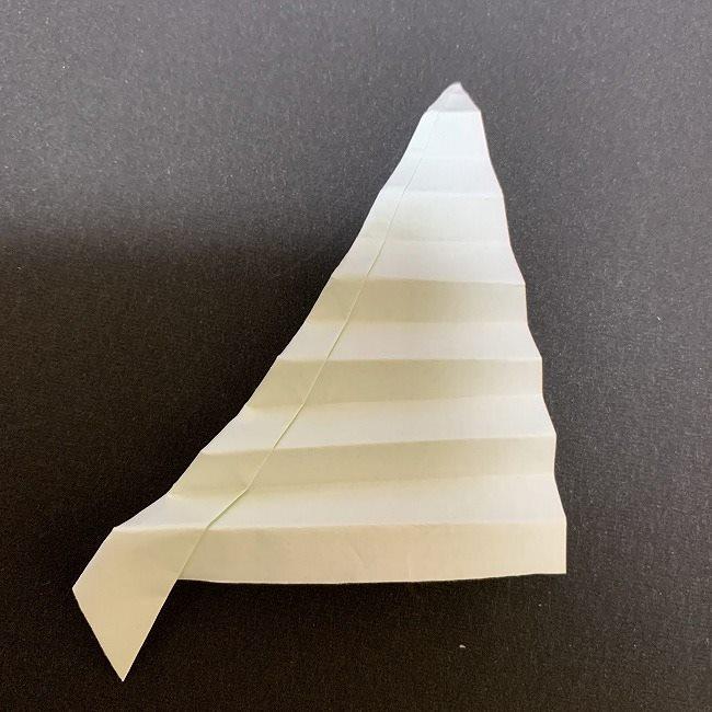 桜の葉の折り紙 簡単な折り方作り方 (6)